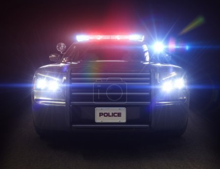 Police car cruiser
