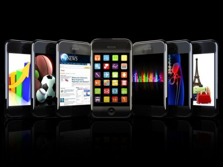 Smartphones, apps, and uses