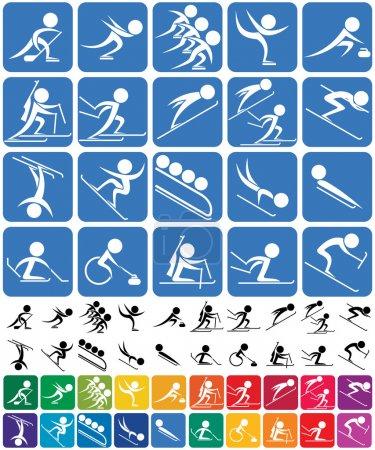 Winter Sports Symbols