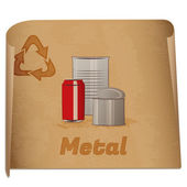 Recycling metal memo