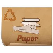 Recyklace papíru penále