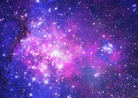 """Photo for Small part of an infinite star field of space in the Universe. """"Elements of this image furnished by NASA"""". - Royalty Free Image"""