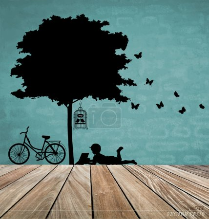 Vector Decorative Wall Stickers For Your House's Interiors. (eas