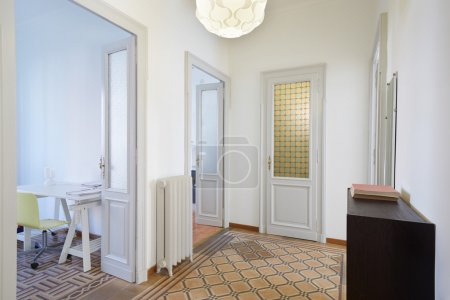 Photo for Apartment interior with hallway and rooms - Royalty Free Image