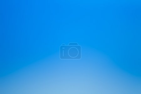 Photo for Abstract bright blue color blurred background - Royalty Free Image