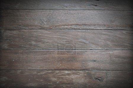 Photo pour Vieux fond de planche de bois foncé - image libre de droit