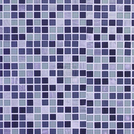 Photo for Purple retro mosaic  tiles background - Royalty Free Image