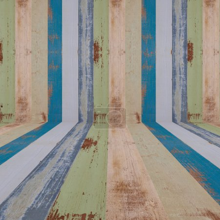 Retro wood plank textured background