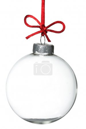 Empty Christmas ornament