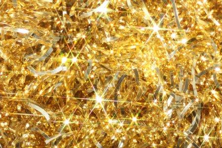 Photo pour Fond doré - image libre de droit