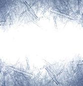 Closeup ledových krystalů