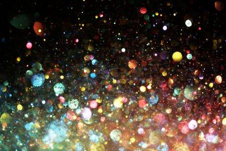 Photo pour Arc en ciel de lumières - image libre de droit