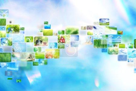 Photo pour Collage d'images - image libre de droit