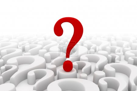 Question mark background