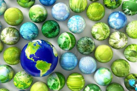 Photo pour Terre - texture de la Terre de la NASA - image libre de droit