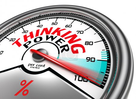 Thinking power conceptual meter