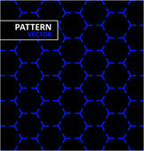 Optical illusion pattern (black one piece blue white all separate)