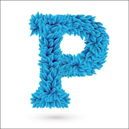 P letter.