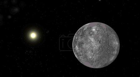 The planet mercury...