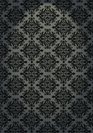 Photo for Black vintage background pattern - Royalty Free Image