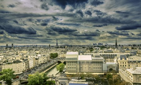 View on Eiffel Tower, Paris