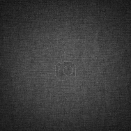 Photo for Dark linen texture background with subtle pattern - Royalty Free Image