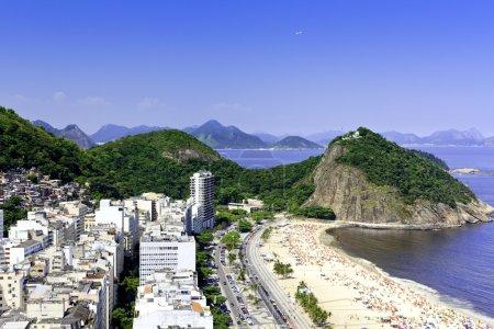 Copacabana beach on sunny day