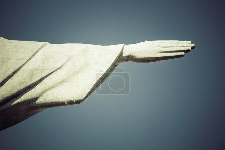 Photo pour Main du Christ Rédempteur à Rio de Janeiro, Brésil - image libre de droit