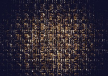 Woven leather background