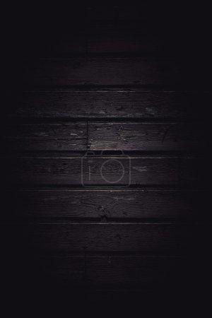 Vertical dark wooden plank pattern