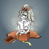 Rabbit in the box