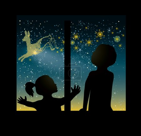 Fairytale Christmas card