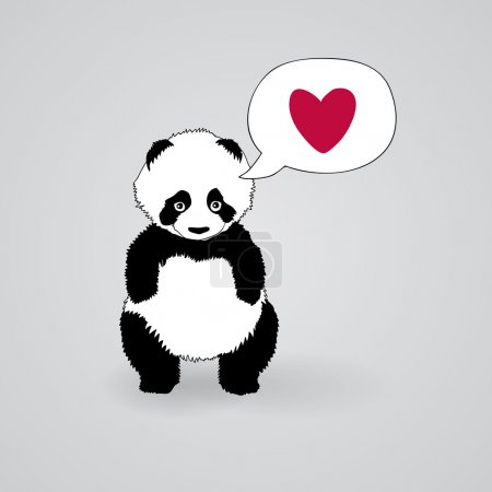 Shy Panda loves you
