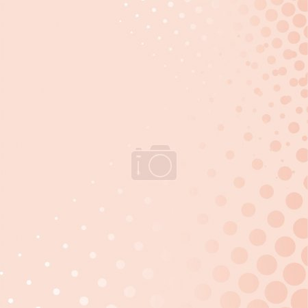 Vector sweet candy pink background with dots