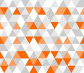 Colorful tile background vector illustration. Grey, white and orange triangle geometric.
