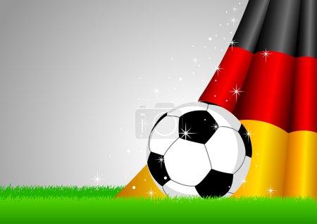 Erman Flag and Soccer Ball