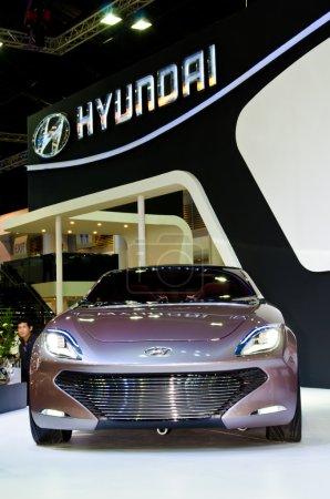 The Hyundai car