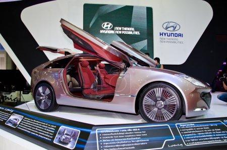 The Hyundai ioniq car