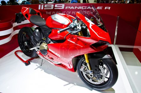 The Ducati 1199 Panigale R