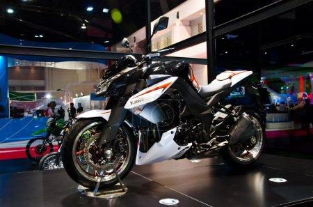 The Kawasaki Z 1000 motorcycle