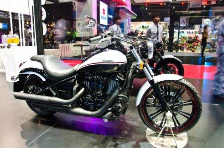 The Kawasaki Vulcan custom motorcycle
