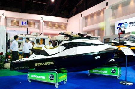 The Jet Ski Seadoo WAKE PRO 215