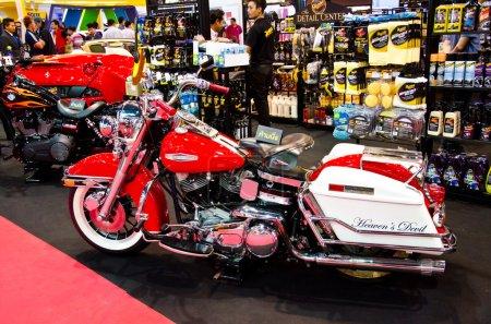 В HarleyDavidson дороге Король мотоцикл