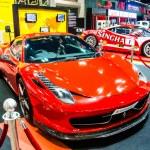 BANGKOK - JUNE 20 : Ferrari 458 Challenge car on d...