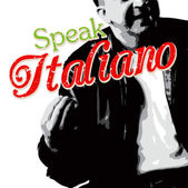 Italians talk with their hands as depicted in this Italian guy illustration with typography