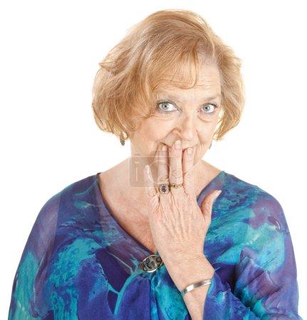 Blushing Grandmother