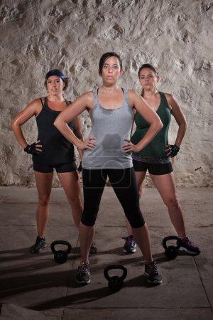 Ladies Finishing Boot Camp Workout