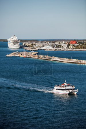 Key West Port With Boats