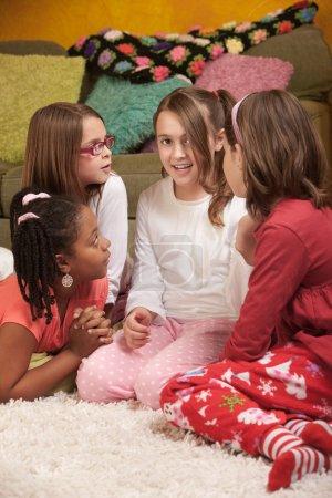 Four Chatty Little Girls