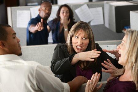 Women Coworkers Quarreling